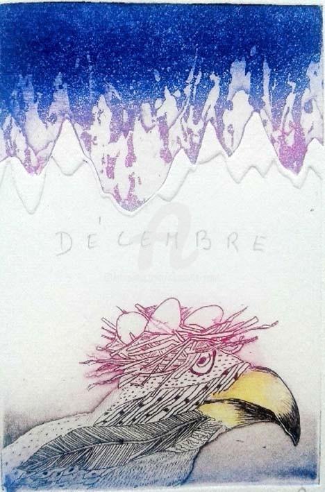 Charlotte Reine - Ciel d'Hiver - Décembre