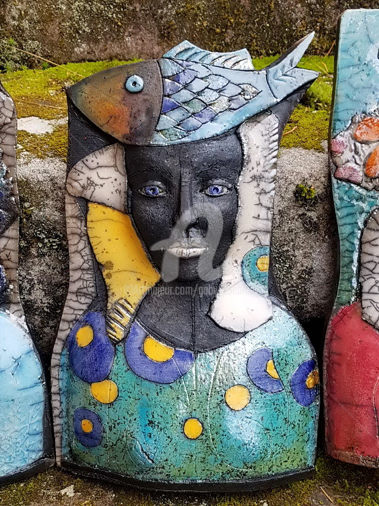 Gaby PÜHMEYER - Travel Companion - Blue Fish