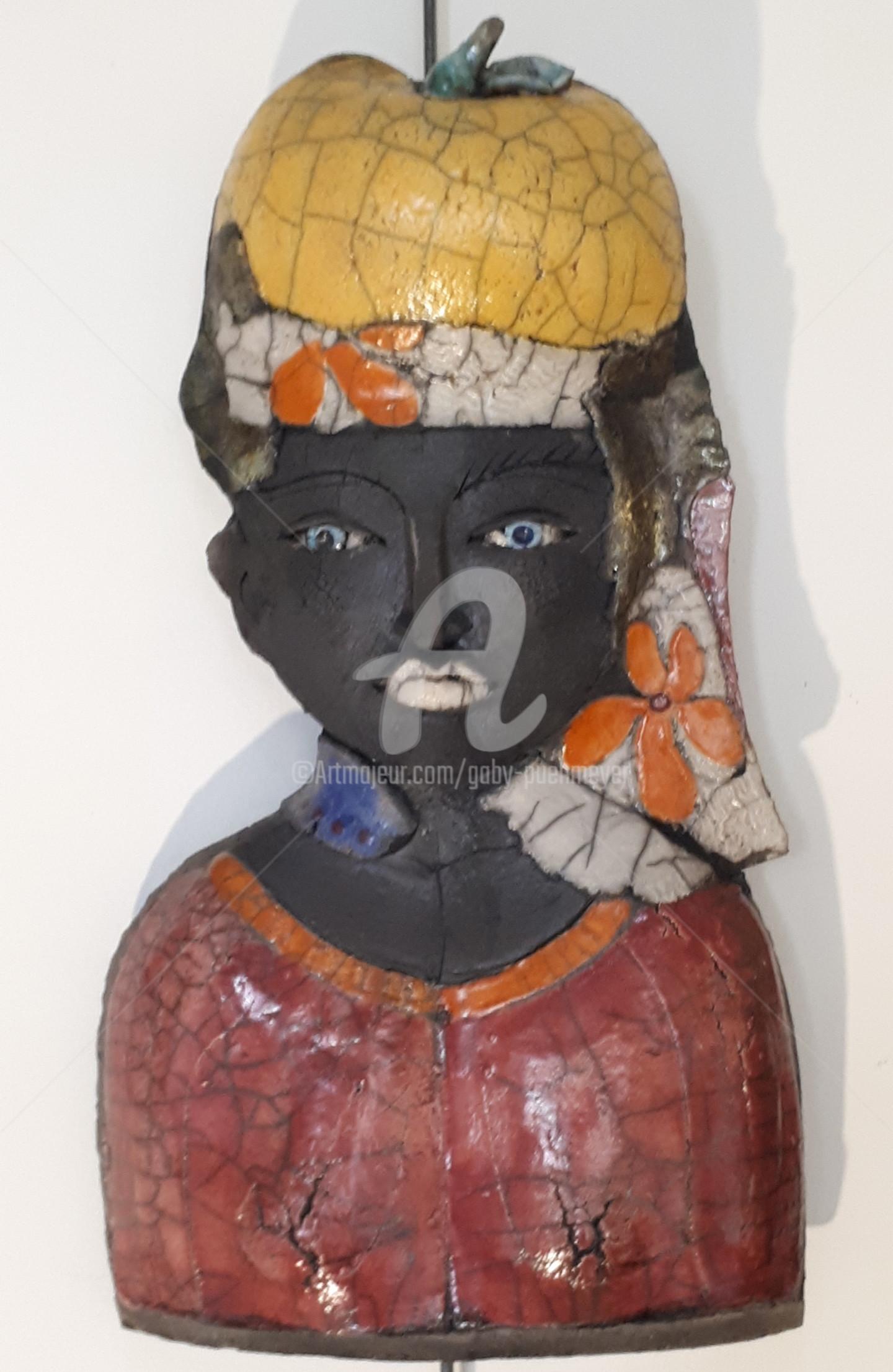 Gaby Pühmeyer - Travel Companion - Melon on Head