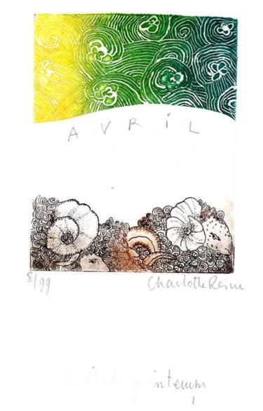 Ciel de Printemps - Avril